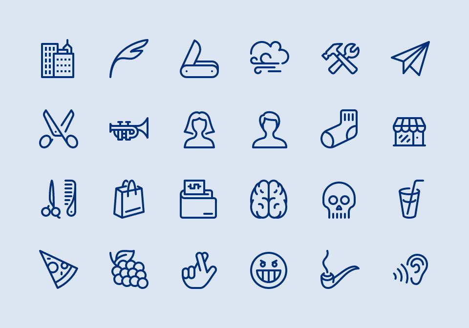 Line Art Icons Free : Premium icon packs